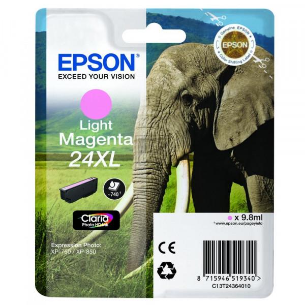 Epson Tintenpatrone magenta light HC (C13T24364020, T2436)