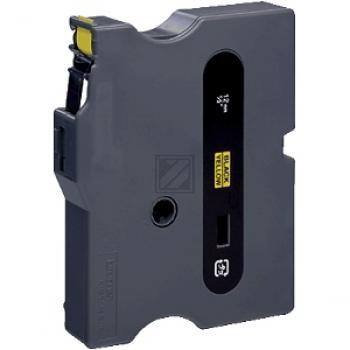 Brother Schriftbandkassette schwarz/gelb (TX-631)