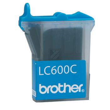 Brother Tintenpatrone cyan (LC-600C)