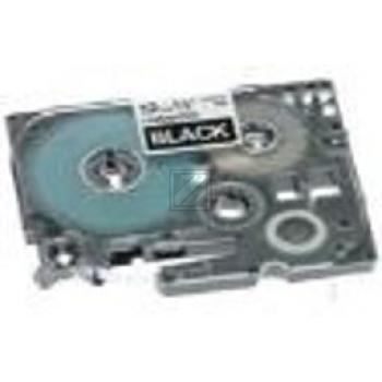 Brother Schriftbandkassette weiß/schwarz (TZE-335)