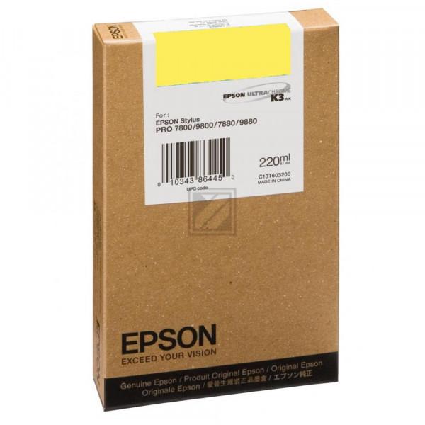 Epson Tintenpatrone Photo-Tinte photo schwarz HC (C13T563100, T5631)