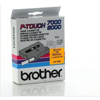 Brother Schriftbandkassette schwarz/signal orange (TX-B51)