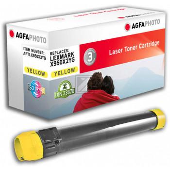 Agfaphoto Toner-Kit gelb (APTLX950X2YG) ersetzt X950X2YG