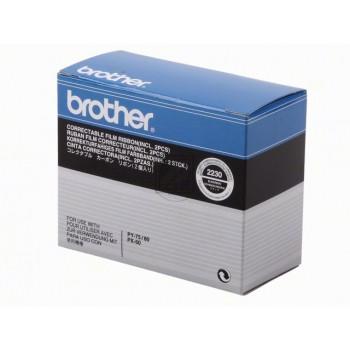 Brother Farbband Correctable 2 x schwarz (2230)