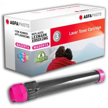 Agfaphoto Toner-Kit magenta (APTLX950X2MG) ersetzt X950X2MG