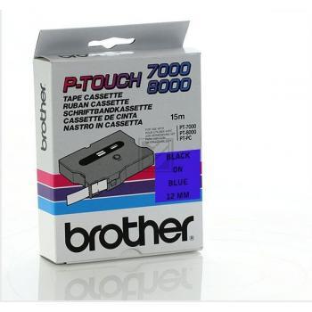 Brother Schriftbandkassette schwarz/blau (TX-531)