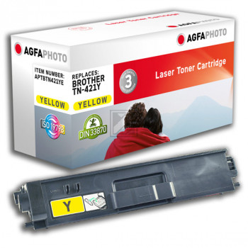 Agfaphoto Toner-Kit gelb (APTBTN421YE) ersetzt TN-421Y