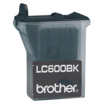 Brother Tintenpatrone schwarz (LC-600BK)