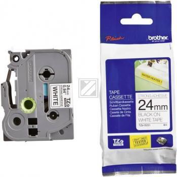 Brother Schriftbandkassette schwarz/weiß (TZE-S251)