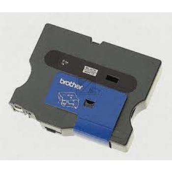 Brother Schriftbandkassette rot/weiß (TX-252)