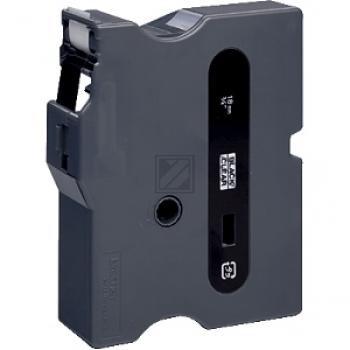 Brother Schriftbandkassette schwarz/transparent (TX-141)