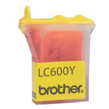 Brother Tintenpatrone gelb (LC-600Y)
