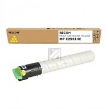 Ricoh Toner-Kit gelb (842062, TYP-MPC2551HE)