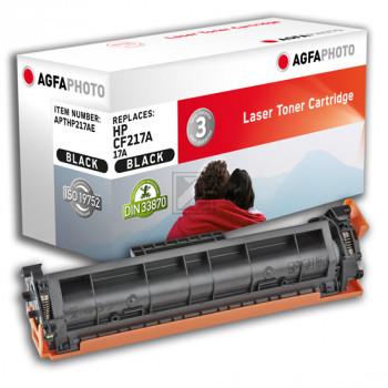 Agfaphoto Toner-Kartusche schwarz (APTHP217AE) ersetzt 17A