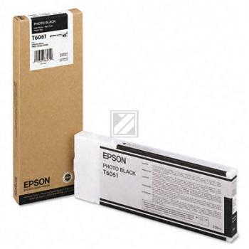 Epson Tintenpatrone Photo-Tinte photo schwarz HC (C13T606100, T6061)