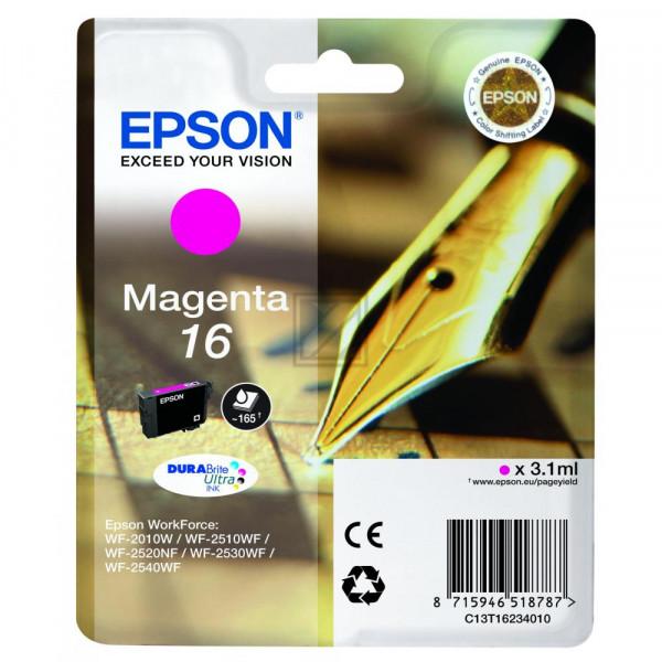 Epson Tintenpatrone magenta (C13T16234020, T1623)