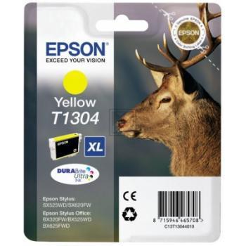 Epson Tintenpatrone gelb (C13T13044020, T1304)