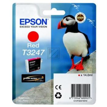 Epson Tintenpatrone rot (C13T32474010, T3247)