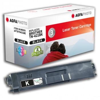 Agfaphoto Toner-Kit schwarz (APTBTN421BE) ersetzt TN-421BK