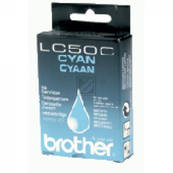 Brother Tintenpatrone cyan (LC-50C)