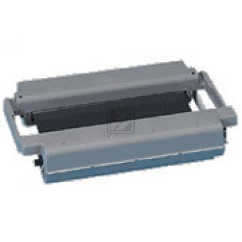 Brother Mehrfachkassette + 1 Thermo-Transfer-Rolle schwarz (PC-91)