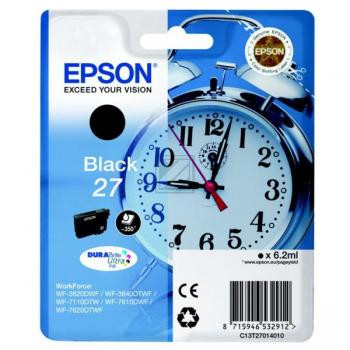 Epson Tintenpatrone schwarz (C13T27014020, T2701)