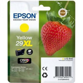 Epson Tintenpatrone gelb HC (C13T29944020, T2994)