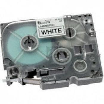 Brother Schriftbandkassette schwarz/weiß (TZE-N211)