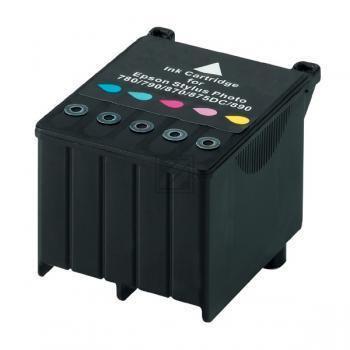 Epson Tintenpatrone 2 x cyan/gelb/magenta/light cyan/light magenta 2-Pack (C13T00940220, T009)