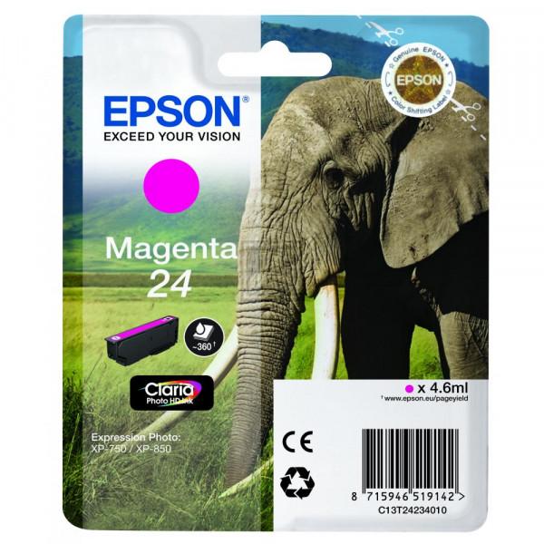 Epson Tintenpatrone magenta (C13T24234020, T2423)