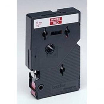 Brother Schriftbandkassette weiß/rot (TC-495)