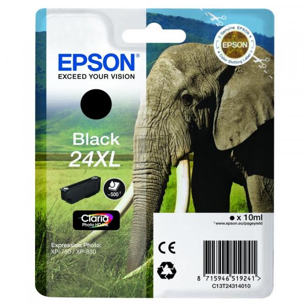 Epson Tintenpatrone schwarz HC (C13T24314020, T2431)